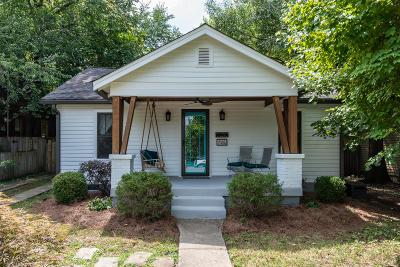 Nashville Single Family Home For Sale: 706 Fatherland St
