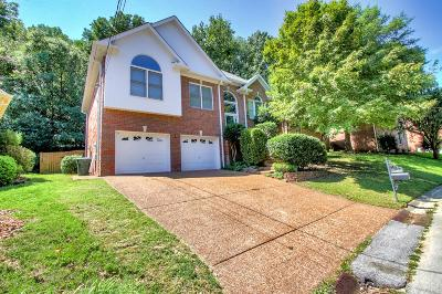 Davidson County Single Family Home For Sale: 5036 Sunset Way
