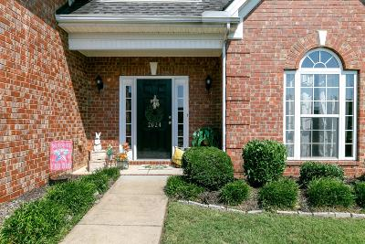 Spring Hill  Single Family Home For Sale: 2024 Fiona Way