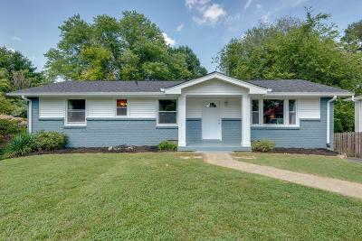 Nashville Single Family Home For Sale: 540 Brewer Dr