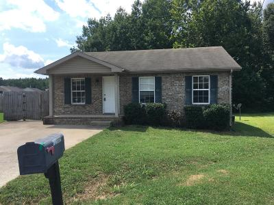 Clarksville Single Family Home For Sale: 722 Donna Ct.