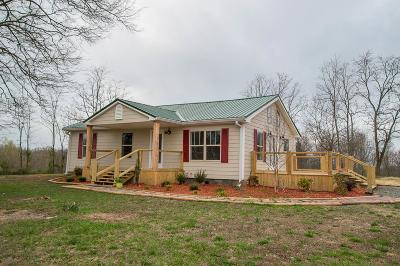 Woodbury TN Single Family Home For Sale: $189,900