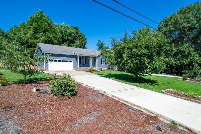 Clarksville Single Family Home Active Under Contract: 721 Ashwood Dr