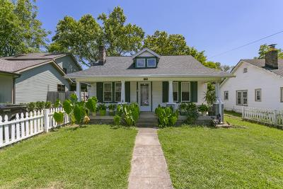 Nashville Single Family Home For Sale: 1125 Stockell St