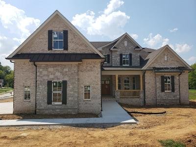 Brentwood, Fairview, Franklin, Spring Hill, Thompson's Station, Thompsons Station Single Family Home For Sale: 3691 Ronstadt Road - Lot 5038