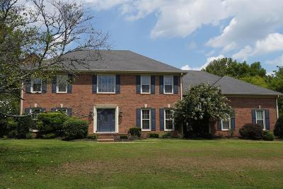 Hendersonville Single Family Home For Sale: 224 The Hollows Ct
