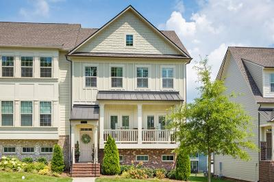 Brentwood Condo/Townhouse For Sale: 9542 Faulkner Sq