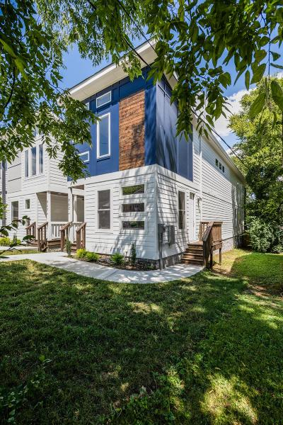 Nashville Single Family Home For Sale: 942A 31st Ave N
