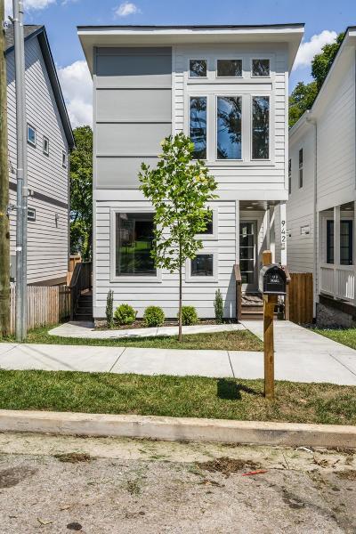 Nashville Single Family Home For Sale: 942B 31st Ave N