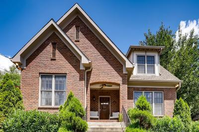 Nashville Single Family Home For Sale: 1209 Lillian St