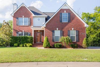 Murfreesboro Single Family Home For Sale: 4634 Hammock Dr