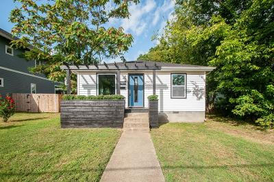 Nashville Single Family Home For Sale: 1915 10th Ave N