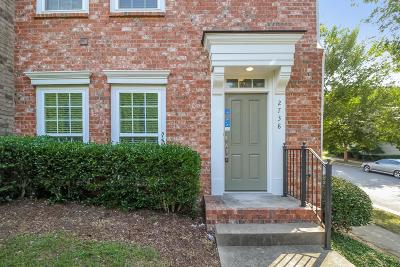 Nashville TN Condo/Townhouse For Sale: $250,000