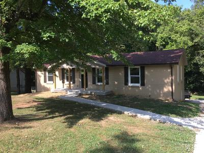 Clarksville Single Family Home For Sale: 40 Bunker Hill Rd