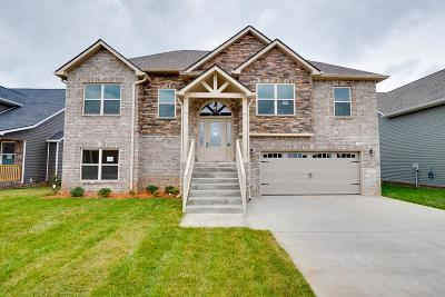 Clarksville TN Single Family Home For Sale: $264,977