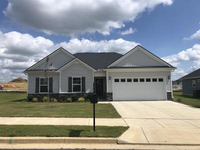 Maury County Single Family Home For Sale: 321 Turney Lane Lot 52