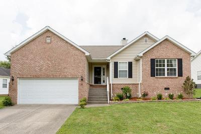 Robertson County Single Family Home Active Under Contract: 125 Sundance Way