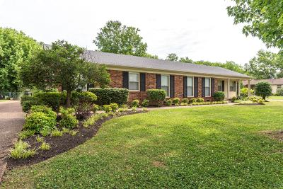 Murfreesboro Single Family Home Active Under Contract: 1911 Robinson Rd