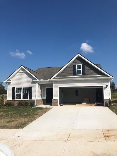 Shelbyville Single Family Home For Sale: 601 Tines Drive Lot 88
