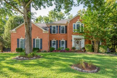 Brentwood Single Family Home Active Under Contract: 1729 Reins Ct