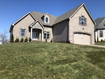 Clarksville Single Family Home For Sale: 190 Timber Springs Lot 190
