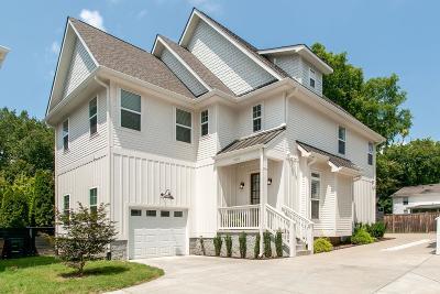 Nashville Single Family Home For Sale: 920F Kirkwood Ave
