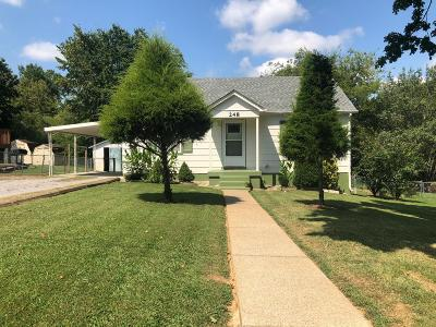 Lewisburg Single Family Home Active Under Contract: 248 Hopkins Ave