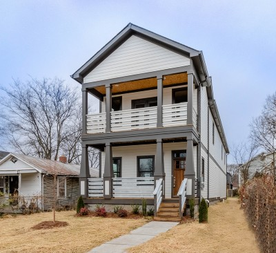 Nashville Single Family Home For Sale: 6002 Louisiana Ave