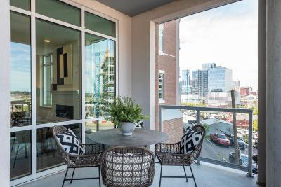 Nashville Condo/Townhouse For Sale: 20 Rutledge St #107