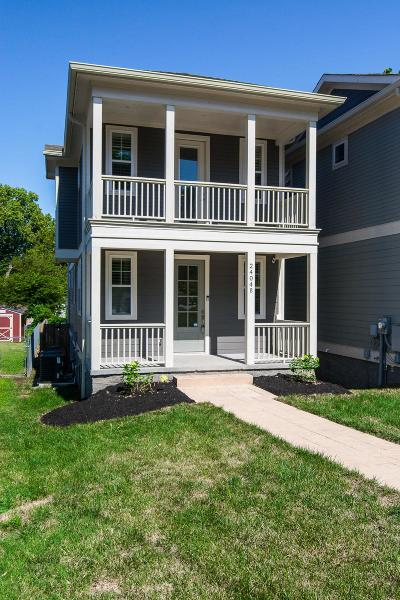 Nashville Single Family Home For Sale: 2404B 14th Ave N