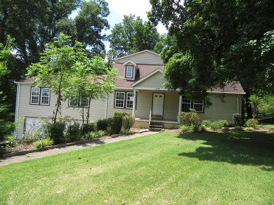 Clarksville Single Family Home For Sale: 646 Vaughan Rd