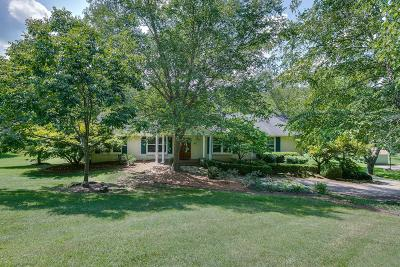 Brentwood Single Family Home For Sale: 891 Holly Tree Gap Rd