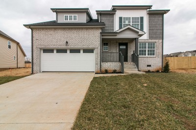 Clarksville Single Family Home For Sale: 894 Wild Elm Ct (Lot 43)