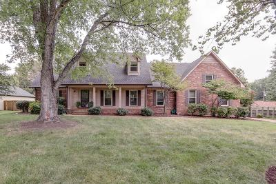 Franklin  Single Family Home Active Under Contract: 109 Tudor Ct