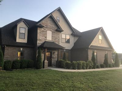Eagleville TN Single Family Home For Sale: $595,000