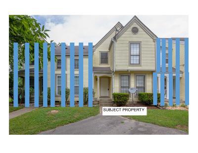 Nashville Condo/Townhouse For Sale: 742 Lake Terrace Dr