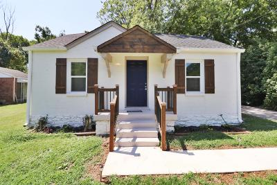 Nashville Single Family Home For Sale: 1142 Ardee Ave