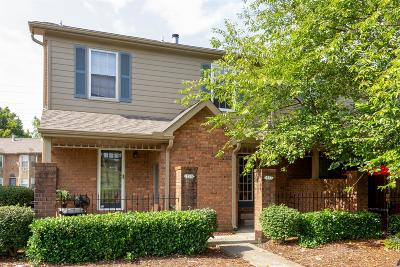 Nashville Condo/Townhouse For Sale: 317 Hickory Pl