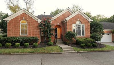 Nashville Single Family Home For Sale: 101 Cantrell Square