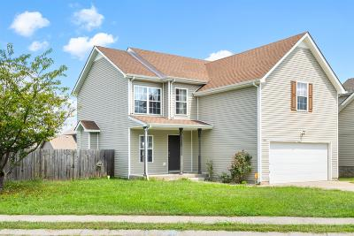 Clarksville Single Family Home For Sale: 3441 Fox Meadow Way