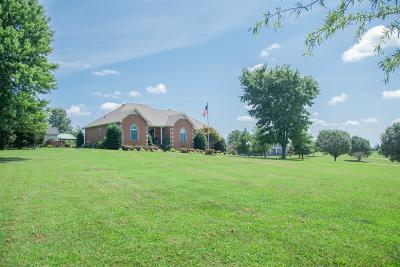 Robertson County Single Family Home For Sale: 3383 Maxie Jones Rd