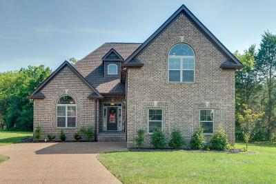 Wilson County Single Family Home For Sale: 22 Colchester Pt