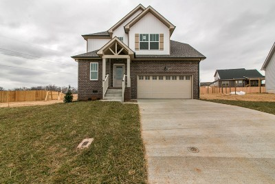 Clarksville Single Family Home For Sale: 890 Wild Elm Ct (Lot 42)