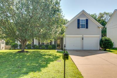 Mount Juliet Single Family Home For Sale: 2263 Monthemer Cove Dr