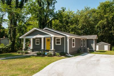 Nashville Single Family Home For Sale: 1531 23rd Avenue N