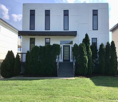 Nashville Single Family Home For Sale: 112B Fern Avenue