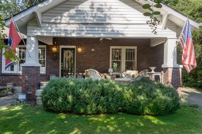 Nashville Single Family Home For Sale: 2039 Elliott Ave