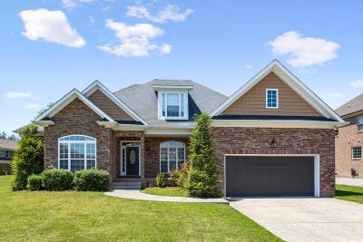 Thompsons Station Single Family Home Active Under Contract: 1026 Brixworth Dr