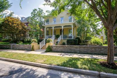Franklin  Single Family Home For Sale: 606 Stonewater Blvd