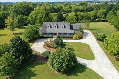Lebanon Single Family Home For Sale: 3740 Coles Ferry Pike